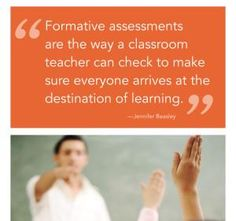 Formative Assessment Paves the Way!