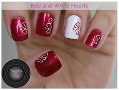 Uñas decoradas de San Valentín - Love Nails   Decoración de Uñas - Manicura y NailArt - Part 4