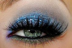 ✝☮✿★ MAKEUP ✝☯★☮ green blue