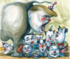 On the campaign trail in Iowa, Donald Trump's antics have forced the other candidates to get crazy or go home. Matt Taibbi's latest.