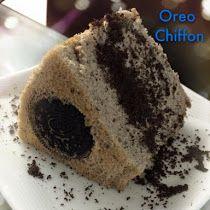 OREO COOKIES CHIFFON CAKE