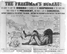 When the Freedman´s Bureau was created there was much controversy on the subject. The blacks were still extremely discriminated against and now they could possibly take a white man´s job. The Bureau created help for the men, however the Bureau was forced to return their property to the white men.