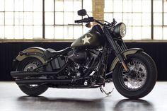 Moto Fat Custom Softail Slim S 2016 | Harley-Davidson España #harleydavidsonsoftailslim