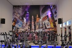 #art2wall #gym #sportschool #Interieur #behang  #Health #sportschool #wanddecoratie #decoratie #interieur #interior #behang #seamless #naadloos #sportief # dynamisch #inspiratie