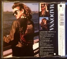 Madonna - Into the groove (Cd single - Yellow series) BACK #Madonna