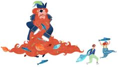 Il pirata barbariccia - digital illustration
