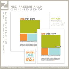 (It was) National Scrapbook Day Celebration! Download a free template and 3 x4 card file + a video tutorial