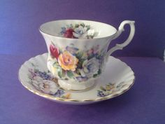 A personal favorite from my Etsy shop https://www.etsy.com/ca/listing/599085180/royal-albert-summertime-series-teacup