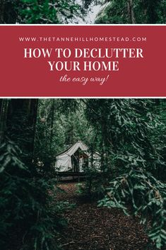 How to Declutter your Home the Easy Way   www.thetannehillhomestead.com Minimalist Lifestyle, Minimalist Home, Clutter Control, Life Organization, Household Organization, Organized Mom, Declutter Your Life, Decluttering, Step Guide