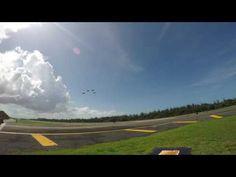 Thunderbirds despegue de practica 20161006