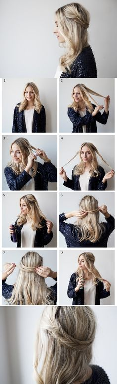 Easy Step by Step Tutorials for Hairstyles for School