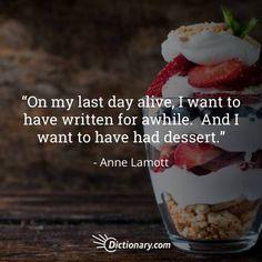 Quotable – Anne Lamott – Writers Write