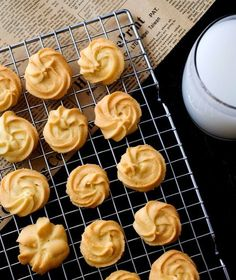 Melt in your mouth butter cookies that tastes similar to Jenny's Bakery.