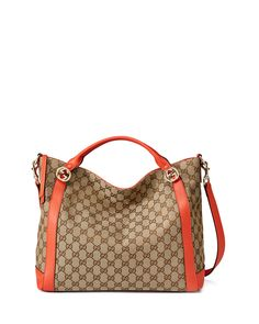 8d7f5052a6e4 Miss GG Original Canvas Top Handle Bag
