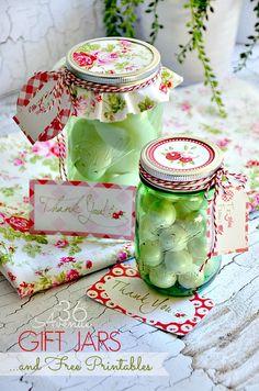 DIY Gift Idea using Mason Jars. #heritagecollection