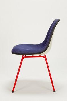 Kleiner Jeans Eames Stuhl - okay art