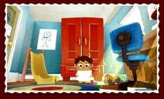 """""""IMAGINE THAT"""" VALORES: IMAGINACIÓN, CREATIVIDAD https://vimeo.com/album/2298055/video/24380957 Un niño pequeño juega en su cuarto a crear monstruos que se convierten en sus compañeros de juego."""