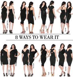 A Pea in the Pod 8 Ways to Wear it   My Tai Convertible Dress