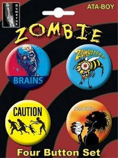 Zombie Button Set