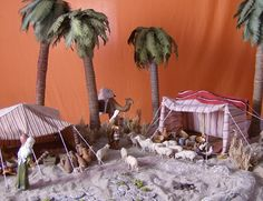 Foro de Belenismo - Arquitectura y paisaje -> Jaimas Christmas Crib Ideas, Christmas Crafts, Christmas Deserts, All Things Christmas, Thanksgiving Decorations, Christmas Decorations, Christmas Village Display, Chinoiserie, Diorama