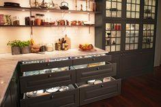 Sigdal kjøkken Liquor Cabinet, Kitchen Inspiration, Storage, Furniture, Home Decor, Purse Storage, Decoration Home, Room Decor, Larger