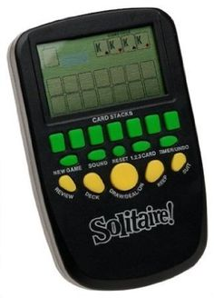 Solitaire Hand Held Electronic Arcade Game >>> Learn more by visiting the image link.Note:It is affiliate link to Amazon. #55likes