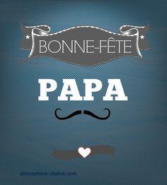 Bonne fête Papa Printable Crafts, Badge, Craft Projects, Messages, How To Plan, Words, Inspiration, Images, Parents