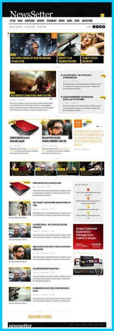 NewsSetter WordPress Theme Review - ThemeFuse