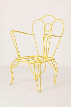 anthro lawn chair. @designerwallace