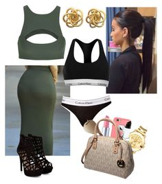 """""""Goal reached.thnx 4 ur support!"""" by gold-cash on Polyvore featuring Movado, Calvin Klein, Ray-Ban, Michael Kors and Mikoh"""