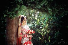Bride's photoshoot moments before leaving for the ceremony #hindu #wedding #beautiful