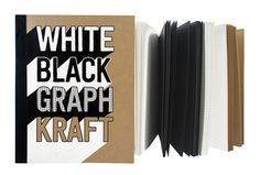 White, Black, Graph and Kraft. You get the works with The Paper Works Sketchbook. Need some graph paper for interesting looking artwork or maybe a geometry class?
