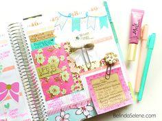 How To Stay Organized: Inside My Erin Condren Planner | Belinda Selene #eclifeplanner