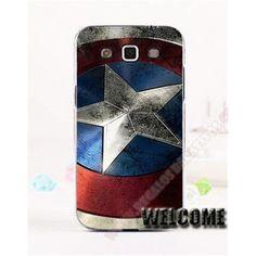 Carcasa Plástica Diseño capitán América para tu móvil Galaxy Express 2