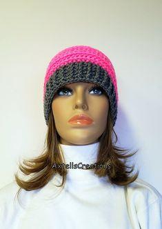 96f51350a60 Women Crochet Solid Pre Tied Warm Cancer Chemo Hat Beanie Turban Stretch  Head Wrap Cap - Black - C218646SHKO