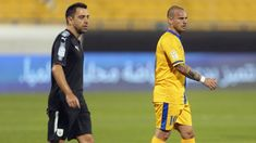 Wesley Sneijder learning ropes of Qatar Stars League from Xavi