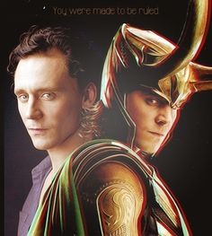 Tom Hiddleston aka Loki, yes he is the hottest looking villian there is!