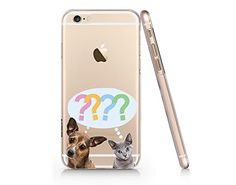 Question Cat And Dog Slim Iphone 6 6s Case, Clear Iphone Hard Cover Case For Apple Iphone 6 6s Emerishop (NPT068.6sl) Emerishop