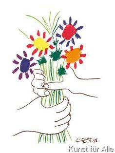 Pablo Picasso - Bouquet