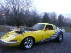 Dads Opel GT