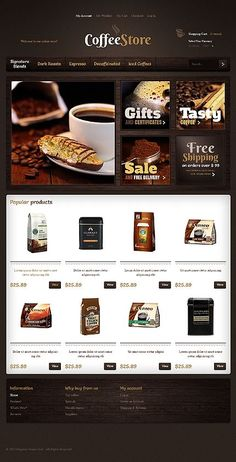 Coffee Store Website