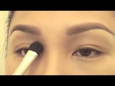 Eyebrow tutorial for thin/light brows. Amazing!