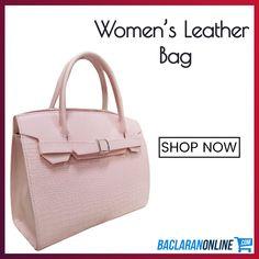 Pink Leather Bag For Women at Baclaran Online Pink Leather, Leather Bag, Women's Bags, Clutches, Shop Now, Handbags, Shopping, Fashion, Moda