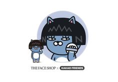 The Face Shop Kakao Friends edition CC Ultra Moist Cushion (Neo) #TheFaceShop