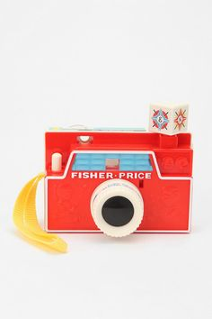 "Fisher Price toy camera - I loved how the ""flash"" cube rotated when you pressed the button :)"