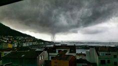 Los tornados, vistos por los lectores. Galicia