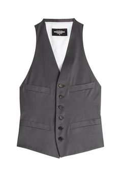 DSQUARED2 Cotton-Blend Vest. #dsquared2 #cloth #