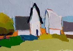 Darlin' Companion IV 12x12 on canvas original oil