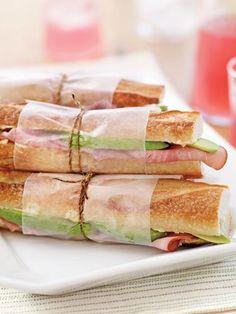 avocado cold cuts sandwich...