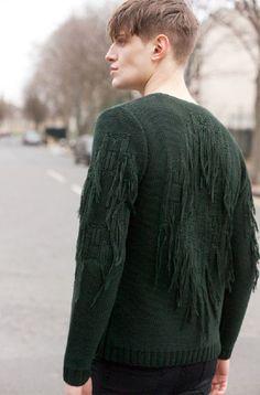 Spanish moss fringe /mens  #streetstyle / #MIZUstyle